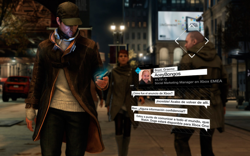 Watch_Dogs выйдет на Xbox One